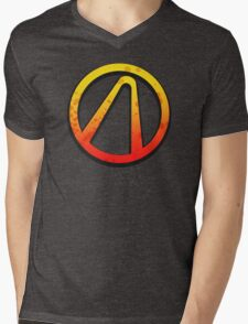 Borderlands 2 vault logo Mens V-Neck T-Shirt
