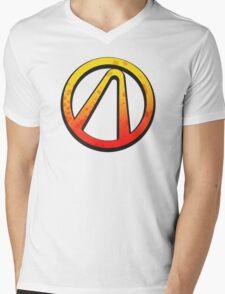 Borderlands 2 vault logo Mens V-Neck T-Shirt