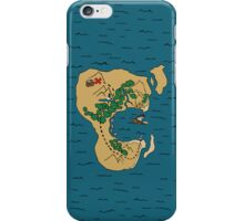 Pirate Map iPhone Case/Skin