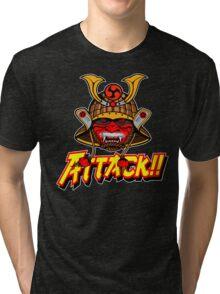 SAMURAI ATTACK!! Tri-blend T-Shirt