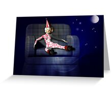 Clown Doll Greeting Card