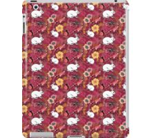 Woodland Excitement in Red, small scale iPad Case/Skin