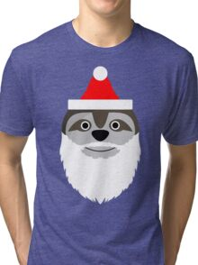 Father Slothmas! Tri-blend T-Shirt