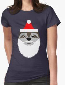 Father Slothmas! Womens Fitted T-Shirt