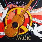 Peace with Music by Steve Boisvert