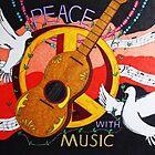 Peace with Music by Steve Boisvert