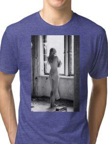 Nude Women Sexy - Sensual Tri-blend T-Shirt