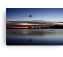 Island of Ruegen: Autumn Sunset Canvas Print