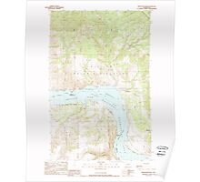 USGS Topo Map Washington State WA Whitestone Rock 244677 1989 24000 Poster
