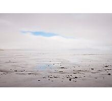 Land, sea, fog Photographic Print