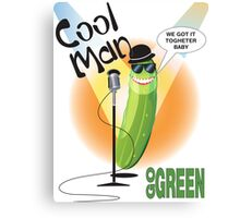 Cool Man Canvas Print