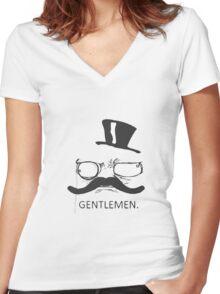 Gentlemen Women's Fitted V-Neck T-Shirt