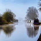 Winter Clayworth Morning II by John Dunbar
