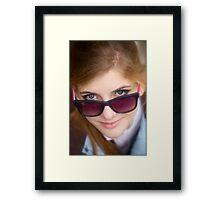 Portrait ### 4 ### . by Andy Brown Sugar. Framed Print