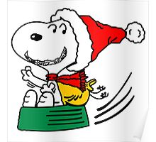 snoopy christmas Poster