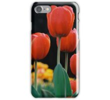 Red Tulips iPhone Case/Skin
