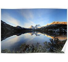 Crystal Cradle Mountain Poster