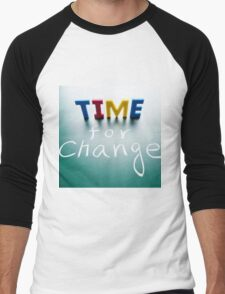 it's time Men's Baseball ¾ T-Shirt