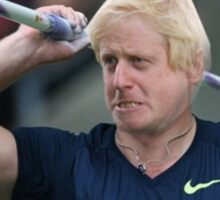 Boris competes in Olympic javelin Sticker