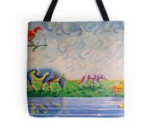 Pictish animal art Tote Bag