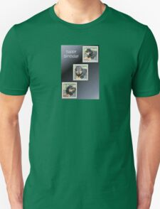 Rottweiler Collage Birthday Greeting T-Shirt
