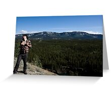 Miles Canyon Modelling Greeting Card
