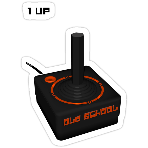 Joystick Gamer - Old School by Maggie McFee