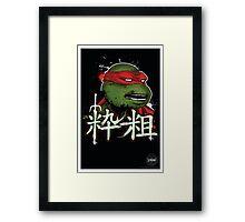 Cool but crude!!! Framed Print