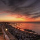 Reculver Sunset by Pancake76