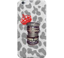 THE ART OF STACKING BANGLES - Leopard iPhone Case/Skin