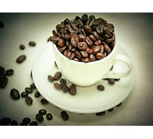 I like my coffee strong! Photographic Print