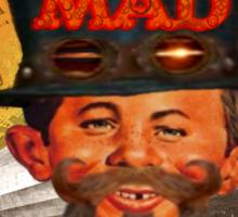Steampunk MAD Sticker