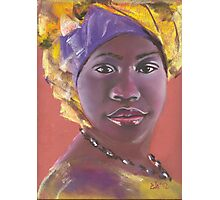 African beauty 1 Photographic Print