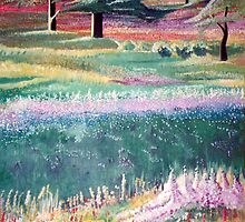 Field of Flowers by Bill Chodubski
