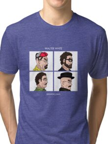 Walter White - Breaking Bad Tri-blend T-Shirt