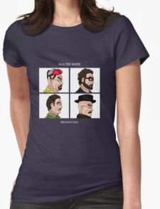 Walter White - Breaking Bad Womens Fitted T-Shirt