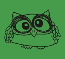 Owl number 13 Kids Clothes