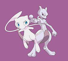 Mew(two) Evol by kjharmon3