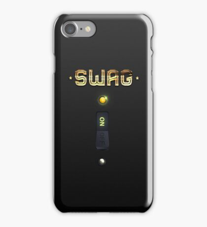The Original SWAG ON Switch iPhone Case iPhone Case/Skin