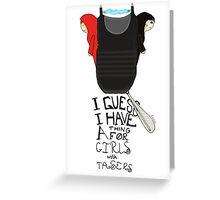 Taser Girls Greeting Card