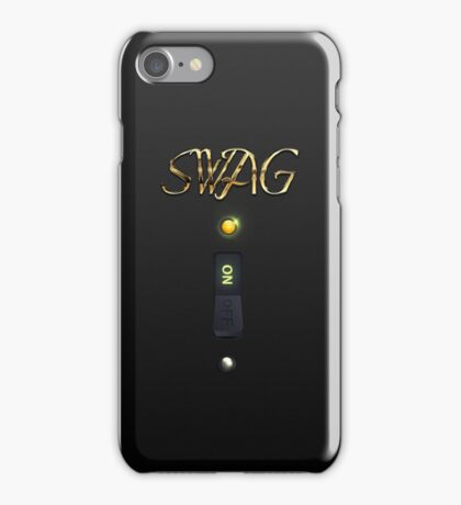 Classy SWAG ON Switch iPhone Case iPhone Case/Skin