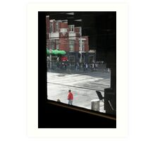 City Intersection Art Print