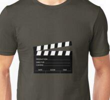 Clapperboard Unisex T-Shirt