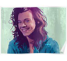 Harry Styles: Bluey Greeny Blue Poster