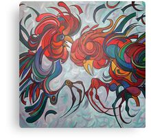 Flying Feathers Canvas Print