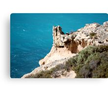 Rock Formations Great Australian Bight Canvas Print