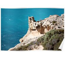 Rock Formations Great Australian Bight Poster