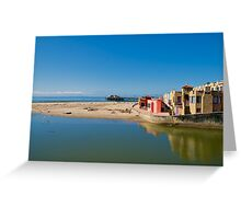 Capitola Riverview to Beach Greeting Card