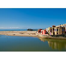 Capitola Riverview to Beach Photographic Print