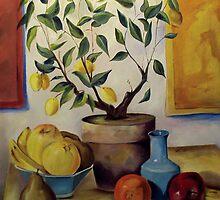 Pear and Apple by Bill Chodubski